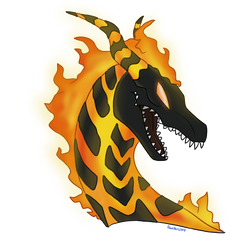 Volcano Dragon Lava Commission by GDTrekkie