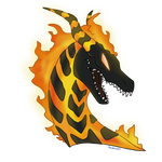Volcano Dragon Lava Commission