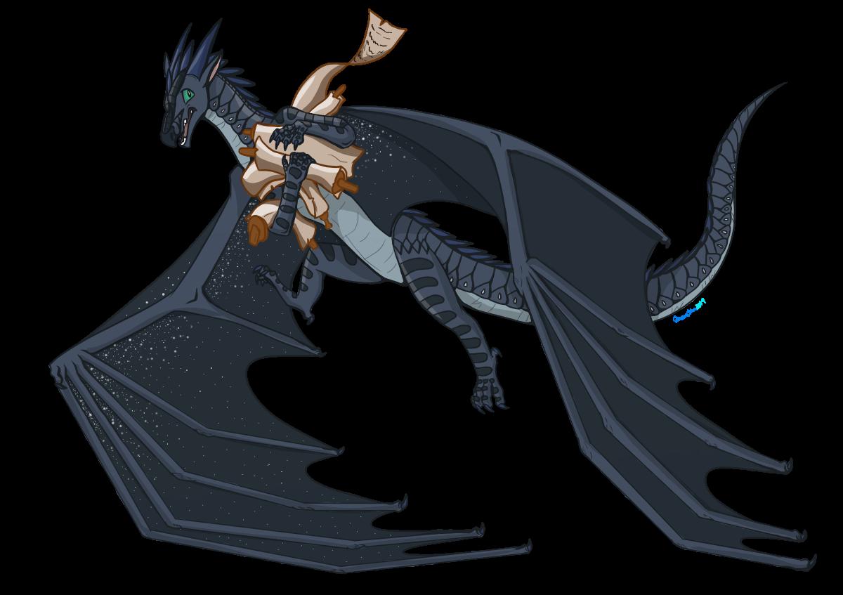 My Scrolls Starflight Wings Of Fire By Gdtrekkie On