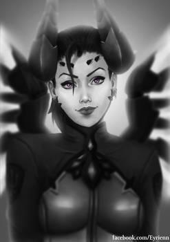 Mercy devil/imp skin