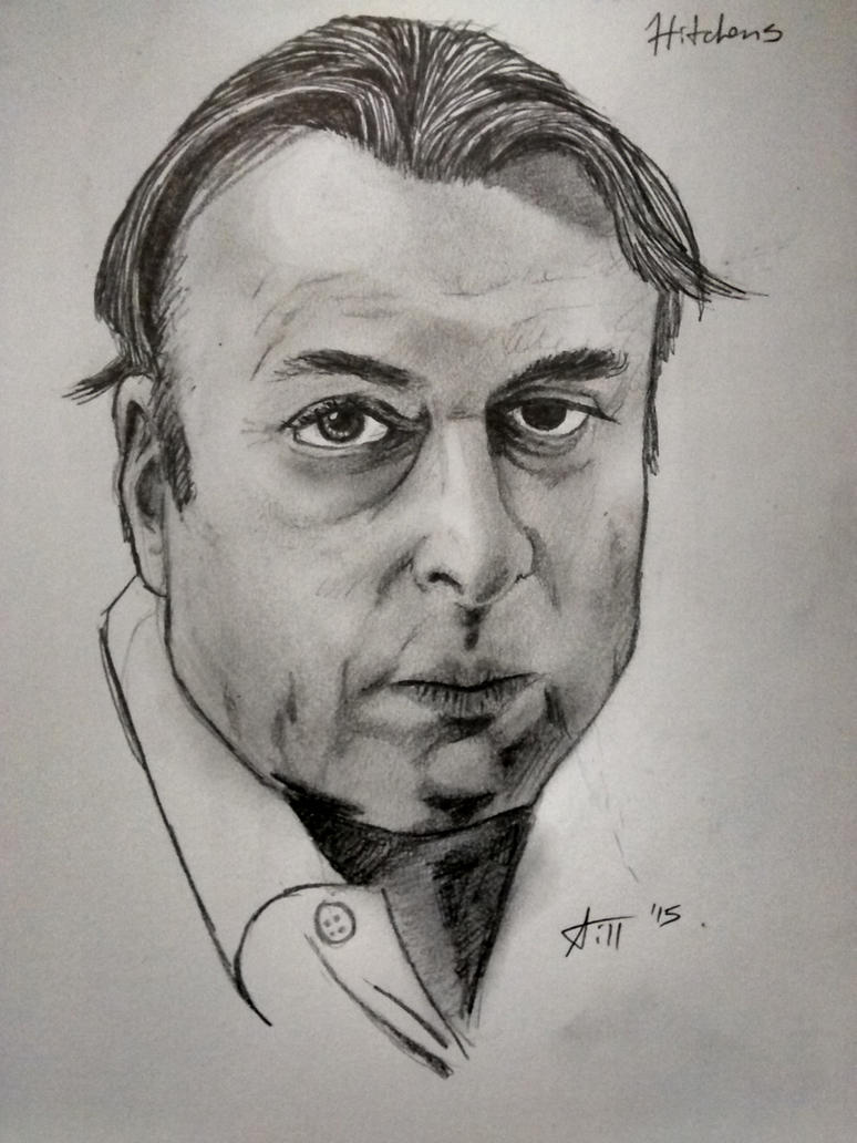 Christopher Hitchens by SoggyPizza
