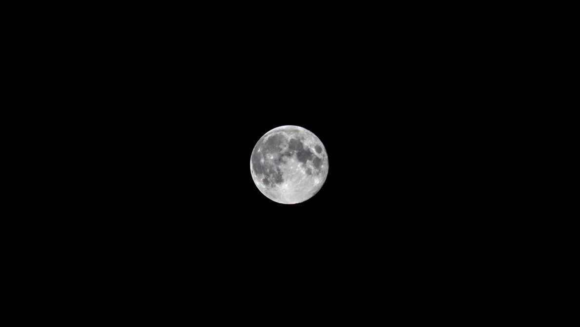 The Moon by Sklarlight