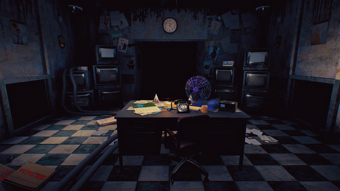 Five Nights at Freddy's 2 - UE4 by Sklarlight