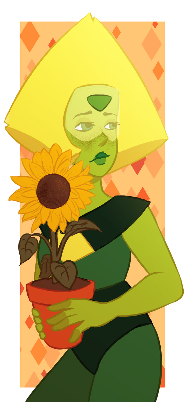 I finally caught up with the new Steven Universe episodes and I'm honestly so sad that Lapis left Peridot and Earth behind, I understand her reasons but that doesn't change that Peridot is sad. At ...