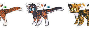 Tortoiseshell cat adoptable auction (CLOSED!) by PikachuSilvia