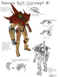 Samus Suit Concept 1
