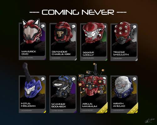 Cursed Halo Helmets