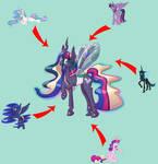 Pone-A-Day 32: Queencess Celesence Sparkalisuna