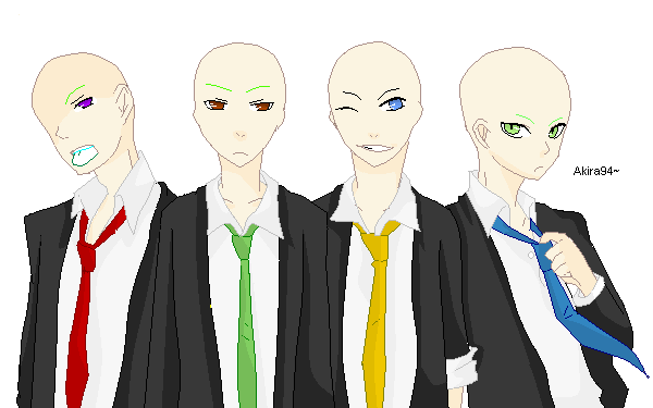 Guys In A Suit Base By Akira94 On Deviantart