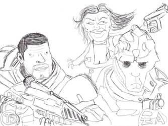 Mass Effect 2 by IHEOfficial