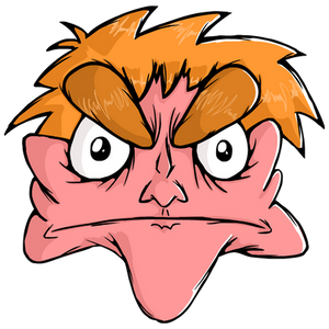 Updated Angry Face