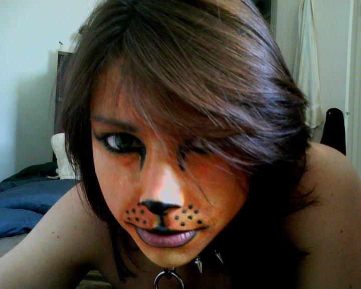 Cat face paint by timskellington on DeviantArt