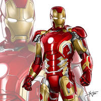 Iron Man by HouEvil