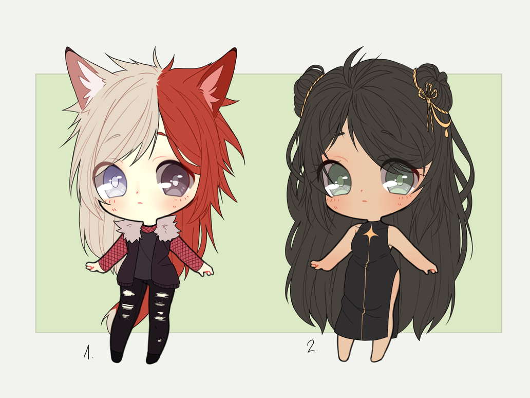 [CLOSED] chibi adoptables 3 by LaiSoo