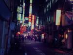 Shibuya street... 2