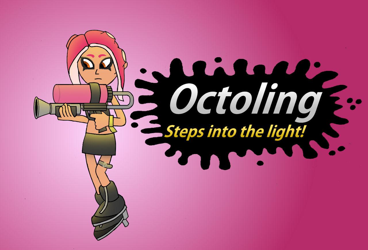 Super Smash Bros Newcomer Octoling By Abrightside On Deviantart