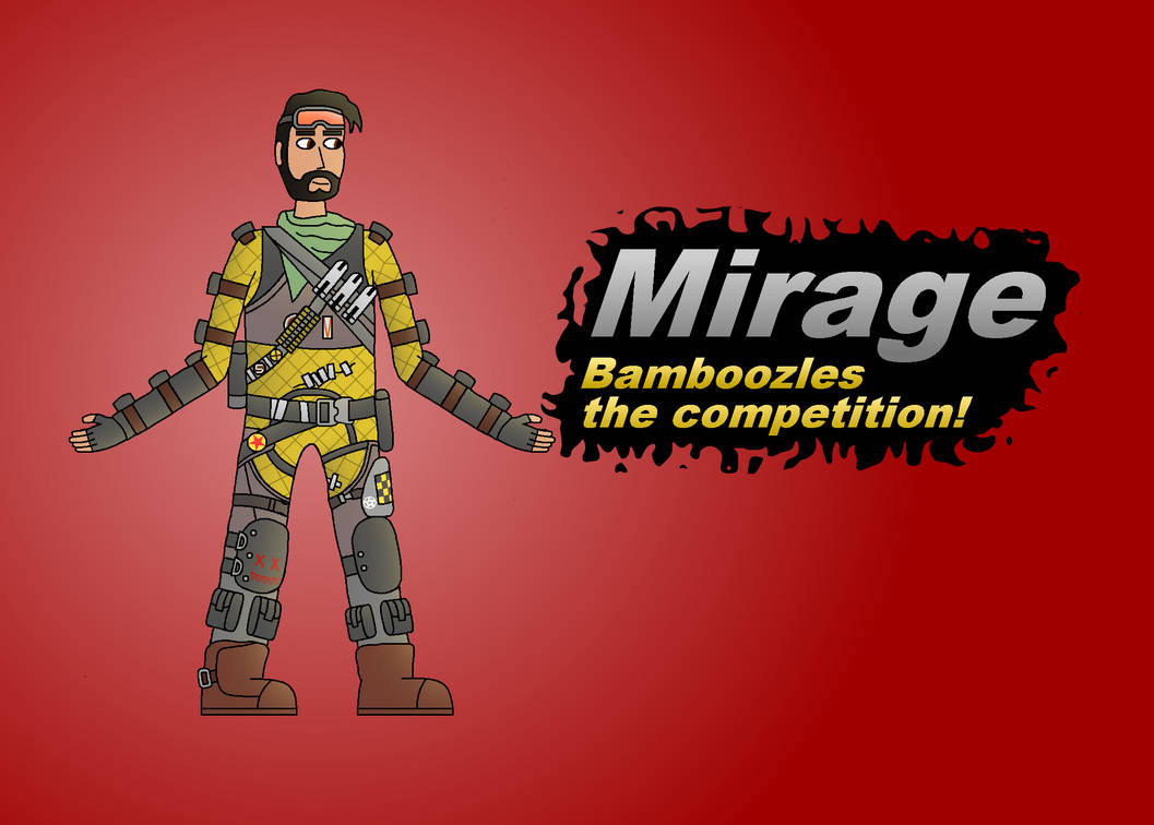 Super Smash Bros Newcomer Mirage By Abrightside On Deviantart