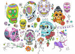 Sugar Skull Flash Page
