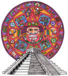 Aztec Calendar Flash Page