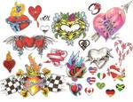 Flash Page - Hearts