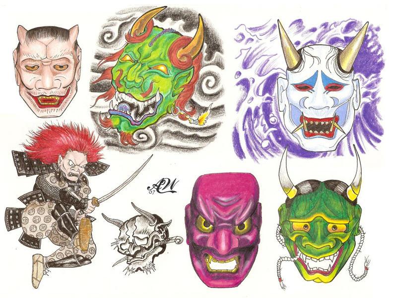 flash page noh masks by bthslayr on deviantart. Black Bedroom Furniture Sets. Home Design Ideas