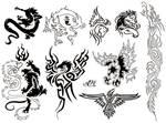 Flash Page - Tribal Animals