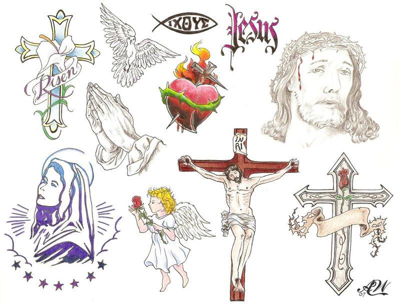 Jesus cross designs