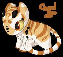 #179 Katragoon - Caramel Tiger [CHILD] by KatAkillus
