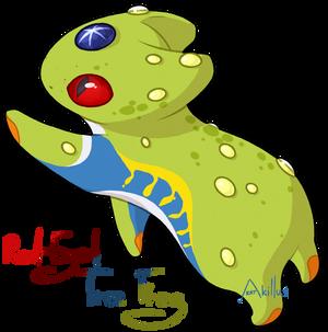 #305 Katragoon - Red-Eyed Tree Frog [CUSTOM]