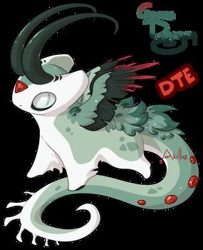 #313 Katragoon - Grass Dragon [DTE][OPEN] by KatAkillus