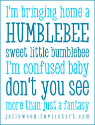 Font: HUMBLE BEE - preview