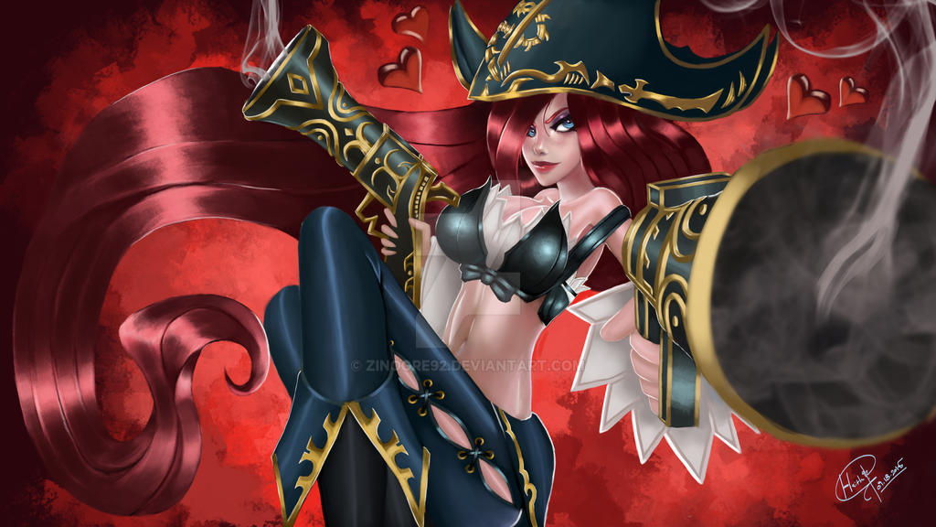 Miss Fortune lol fanart by Miss Fortune Lol Cosplay