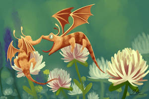 Bumble Dragons by Katherine-Olenic