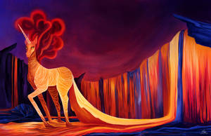 Lava Unicorn by Katherine-Olenic