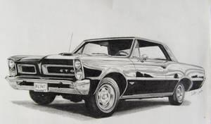 65 Pontiac GTO by professorwagstaff