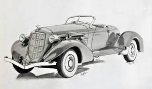 One Classy Ride , The Auburn Speedster