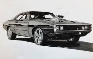 Toretto's 1970 Dodge Charger Fast and Furious