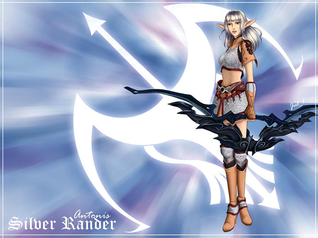 Lineage 2 dark elf phantom ranger by danhasegawa