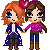Steve and Claire Reborn Icon by PolyMune