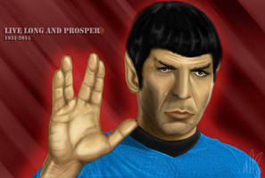 Spock Tribute by PolyMune