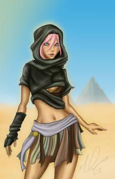 Desert Beauty - Nefertari