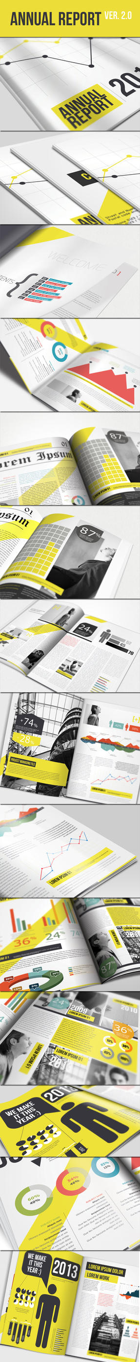Annual Report Brochure Ver 2.0 by UnicoDesign