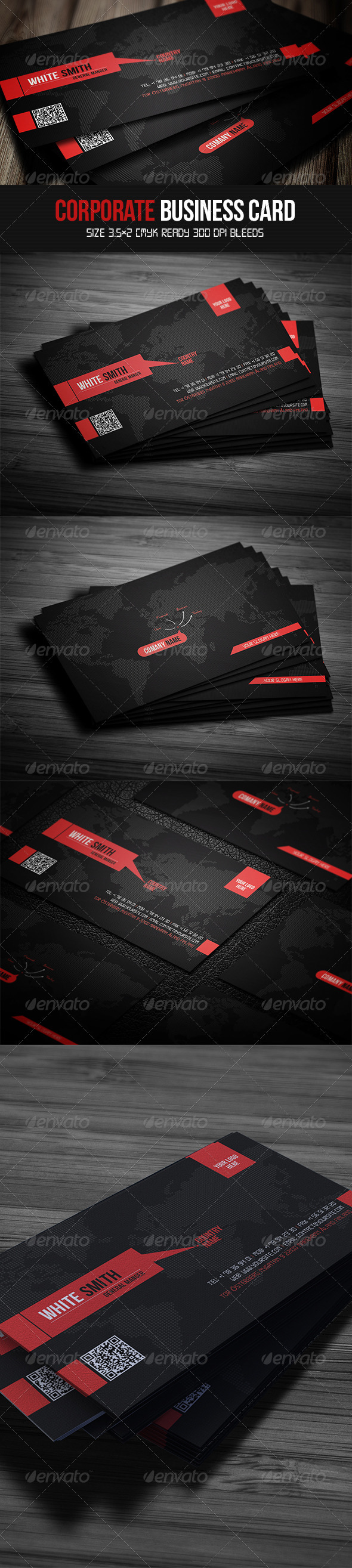Corporate Business Card by UnicoDesign
