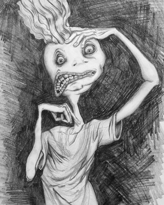 portrait by FearOfPaper