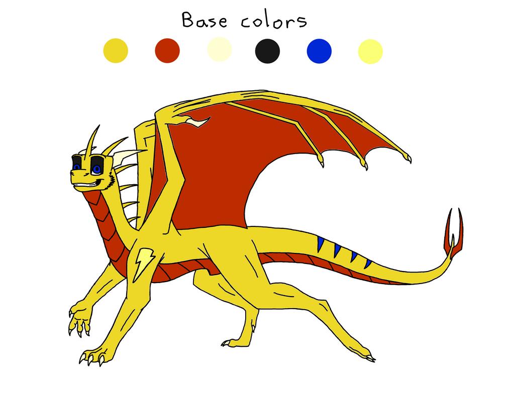 Zack colors by MinrDJ