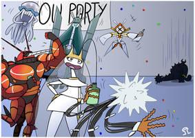 OU Party by Anzhyra