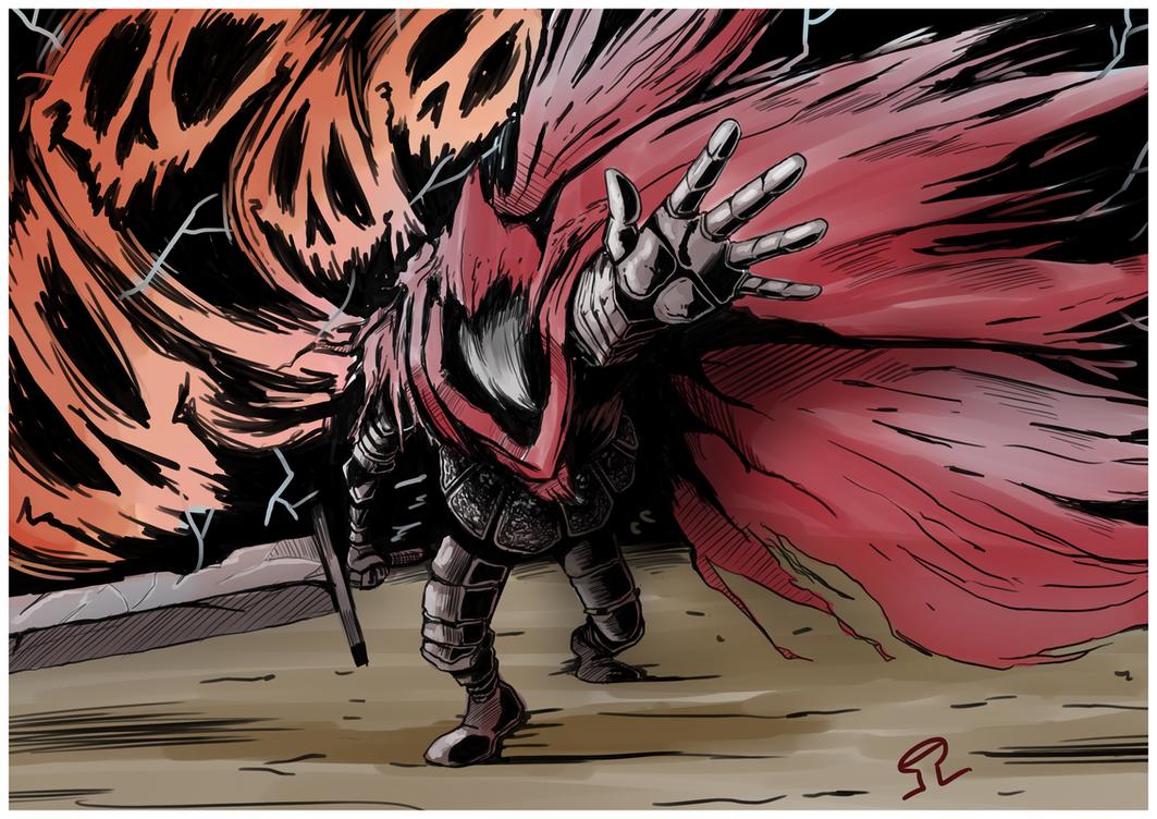 Slave Knight Gael by Anzhyra