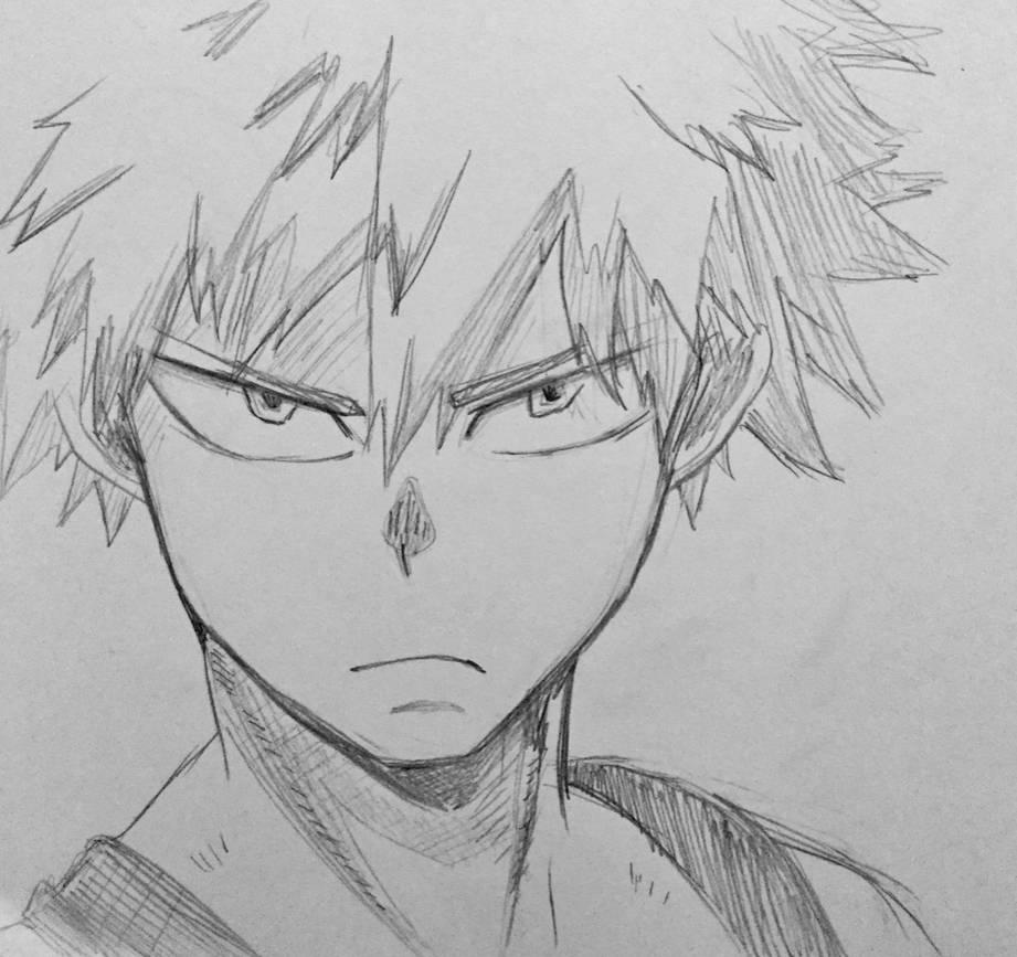 Rough Bakugo Sketch