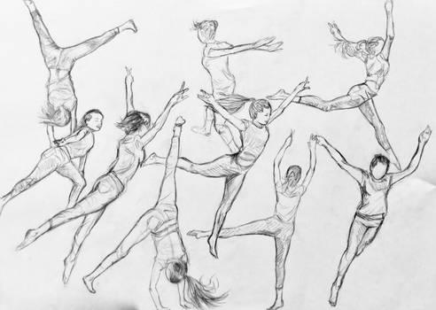Ballet dancer studies