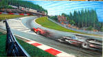Eau Rouge - Mika vs Schumi